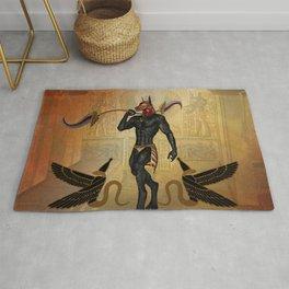 Anubis the Egyptian god Rug