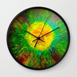 Warm Colours Wall Clock