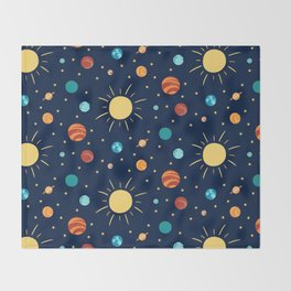 Space Throw Blanket