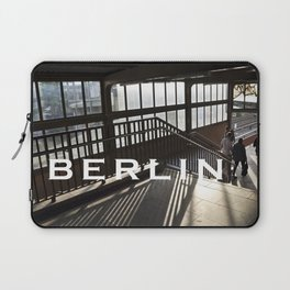 Suburban Railway Station - East Berlin Laptop Sleeve