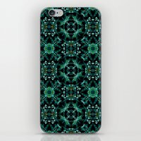 malachite iPhone & iPod Skins featuring Malachite fantasy by ESZAdesign™