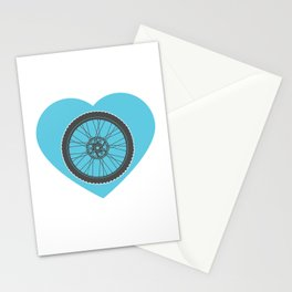 I Love Mountain Biking  Stationery Cards