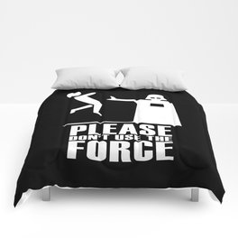Please Don't Use The Force Comforters