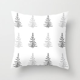 Simple Trees Throw Pillow