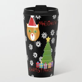 Meowy Christmas! Travel Mug