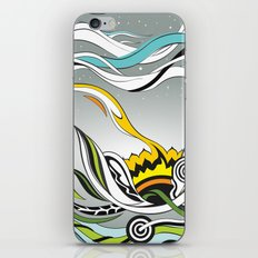 When the Earth meets the Sky iPhone & iPod Skin