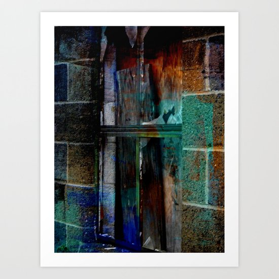 Through Yonder Window Breaks Art Print