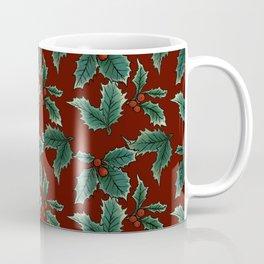 Holly Sprigs - Carmine Coffee Mug