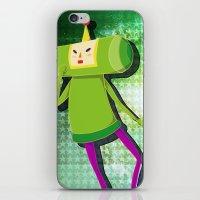 katamari iPhone & iPod Skins featuring Katamari Cousins - Prince by cakeisforrobots