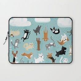 Raining Cats & Dogs Laptop Sleeve