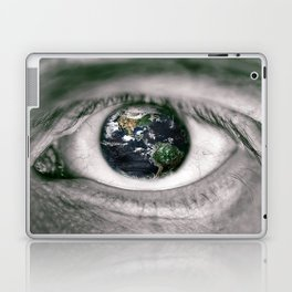 Die Welt mit deinen Augen sehen ! Laptop & iPad Skin