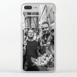blue october i hope you're happy tour 2019 sil1 Clear iPhone Case