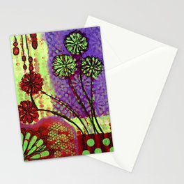 Rubies and Blooms Stationery Cards