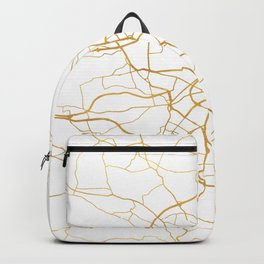 DRESDEN GERMANY CITY STREET MAP ART Backpack