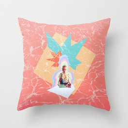 Music Shivers Throw Pillow
