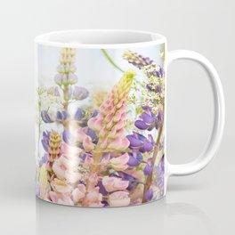 Wild Flowers on Summer Meadow Bouquet #decor #society6 #buyart Coffee Mug
