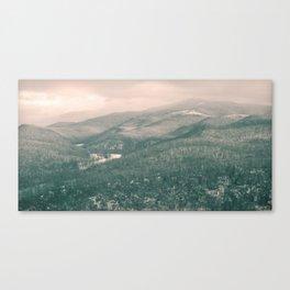 West Virginia Mountains Canvas Print