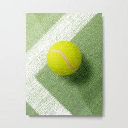 BALLS / Tennis (Grass Court) Metal Print