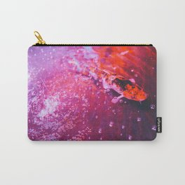 Koi in colourful pond Carry-All Pouch
