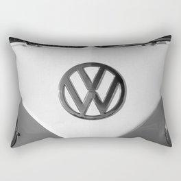 Hippie Van - B&W Splittie Rectangular Pillow