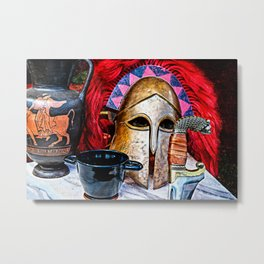 Glory of the heroic age Metal Print