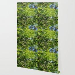 A Peace of Green Wallpaper