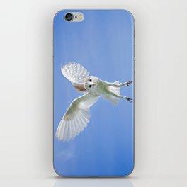 Flying Barn Owl iPhone Skin