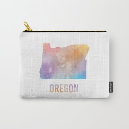Watercolor State - OR Carry-All Pouch