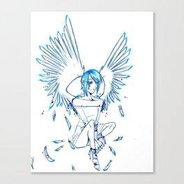 Tears of an Angel Canvas Print
