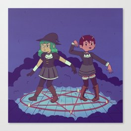 Summon the Spook Canvas Print