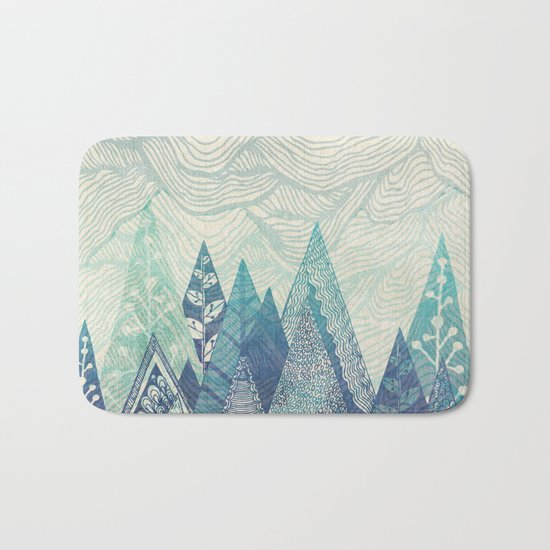 Mountain Crash Bath Mat