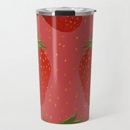 Strawberry Seeds Travel Mug