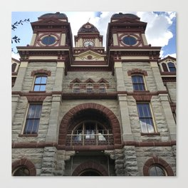 Caldwell County Courthouse Canvas Print
