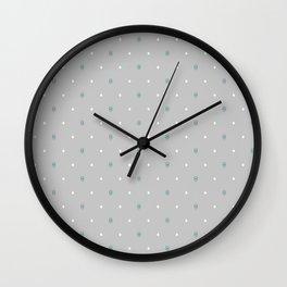 Brighting diamond (grey background) Wall Clock