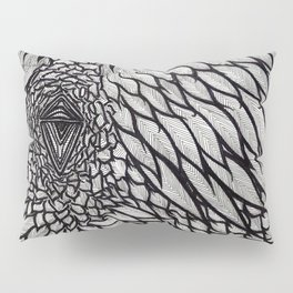 Crow's Scorn Pillow Sham
