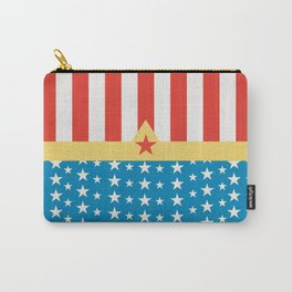 Superhero Wonder Pattern I Carry-All Pouch