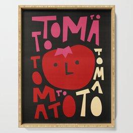 Tomato Tomato Serving Tray