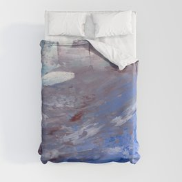 Then I Saw the Beach Duvet Cover