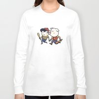 earthbound Long Sleeve T-shirts featuring Mother Miami by Jarvis Glasses
