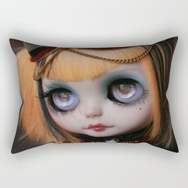FREAKCIRCUS (Ooak BLYTHE Doll) Rectangular Pillow