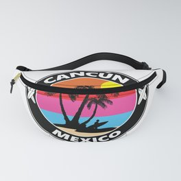Surf Cancun Mexico Fanny Pack