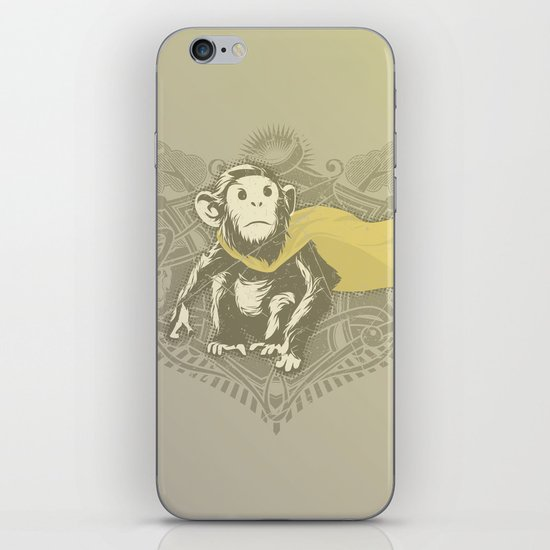 Fearless Creature: Chimpy iPhone Skin