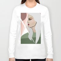 silver Long Sleeve T-shirts featuring Silver by Kuralay