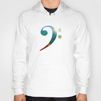 concert Hoodies featuring Concert for Orpheus by Angela Pesic