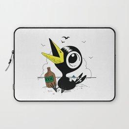 Drinky Crow! Laptop Sleeve