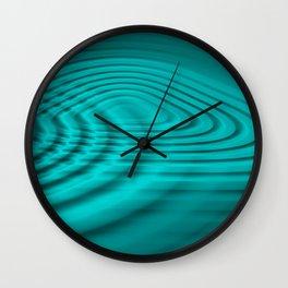 Pacific ocean water ripples Wall Clock