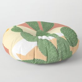 Abstract Cactus II Floor Pillow