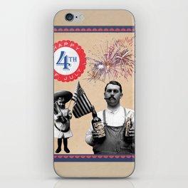 Happy 4th Of July Vintage Humor iPhone Skin