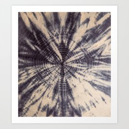 grey boho vibes Art Print