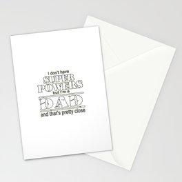 I am a DAD Stationery Cards